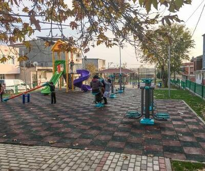 Karacabey Belediyesi'nin sosyal donatı alanlarında iyileştirme çalışmaları sürüyor