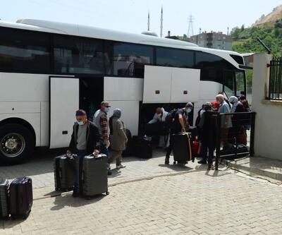 Amerika'dan getirilen Türk vatandaşları karantinaya alındı