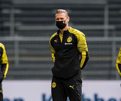 Bundesliga'da sessiz açılış... Isınmaya maske ile çıktılar