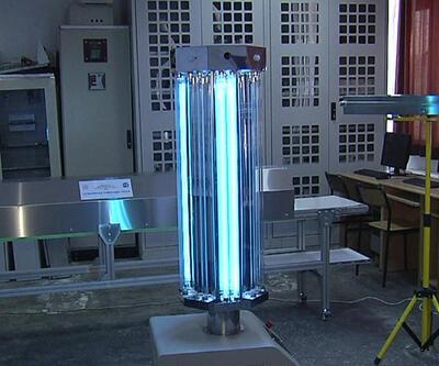 Meslek lisesinde dezenfeksiyon robotu geliştirildi