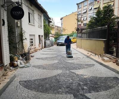 Çekirge sokakları yenileniyor