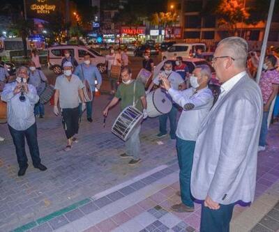 Karacabey'de davul geleneği devam ediyor