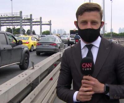 İstanbul'da trafik yine yoğunlaştı