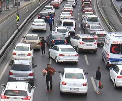 Son dakika... İstanbul'da sıkışan trafik onlara yaradı