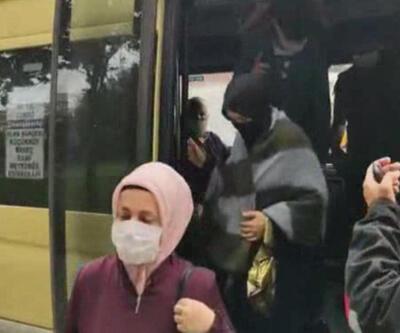 Son dakika... 7 yolcu olması gereken minibüste 23 yolcu çıktı
