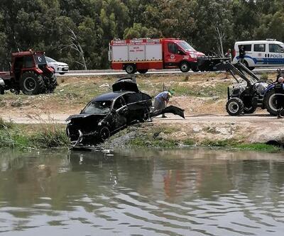 Otomobil dereye uçtu: 3 kişi yaşamını yitirdi