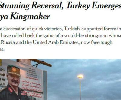 """""""Libya'da belirleyici güç Türkiye"""""""