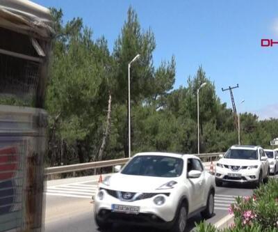 Tatilciler Bodrum'a akın etti