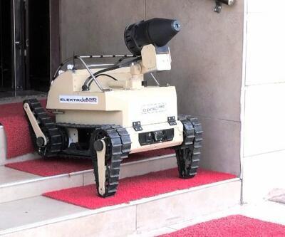 Virüs savaşçısı robot: Cemil
