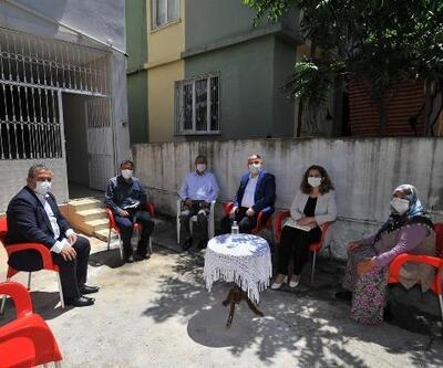 Vali Coşkun'dan şehit ailelerine bayram ziyareti