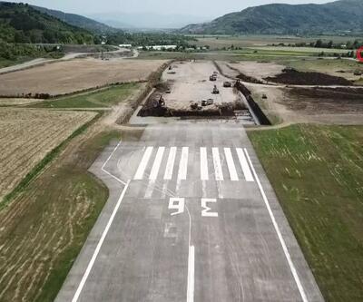 Zonguldak Havalimanı büyüyor