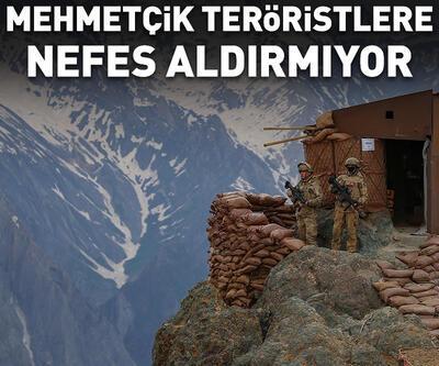 Mehmetçik, İkiyaka Dağları'nda teröristlere nefes aldırmıyor
