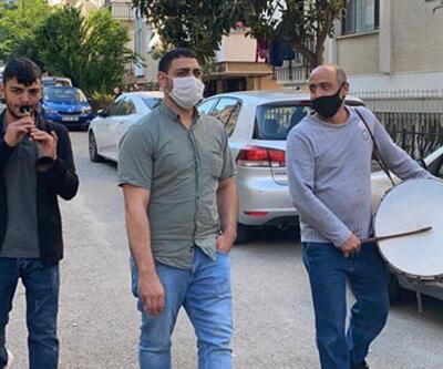 Ramazan davulcuları bahşiş toplamaya çıktı