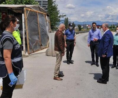 Vali Coşkun'dan, bayramda görev yapan güvenlik güçlerine ziyaret
