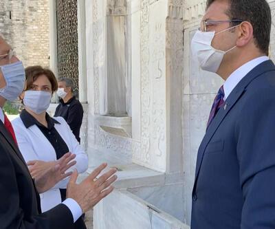 Kılıçdaroğlu'ndan 3. Ahmed Çeşmesi'ne ziyaret