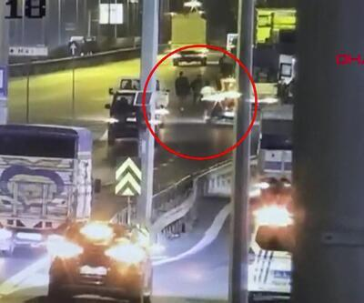 Alkollü sürücü trafik polisine çarpıp kaçtı