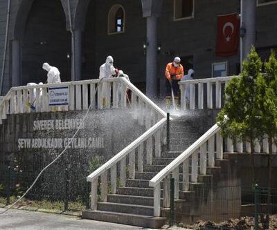 Siverek'te camiler temizleniyor
