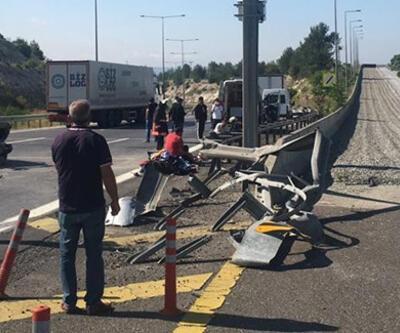 Tarsus'ta trafik kazası: 1 ölü, 4 yaralı