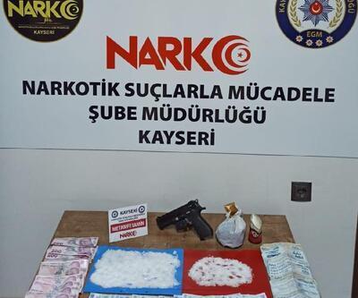 Kayseri'de uyuşturucu operasyonu: 10 gözaltı