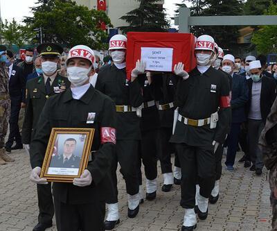 Son dakika... Şehit Teğmen Canbert Tatar, Elazığ'da toprağa verildi