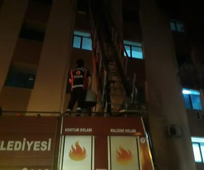 Çanakkale'deki devlet hastanesinin deposunda yangın