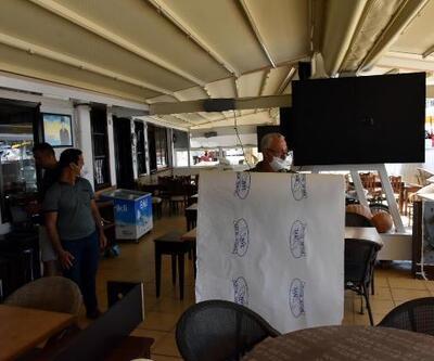 Marmaris'teki restoran ve kafelerde açılış hazırlığı