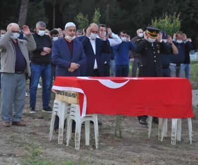 Kalp krizi sonucu hayatını kaybeden Kıdemli Astsubay Dolu, son yolculuğuna uğurlandı