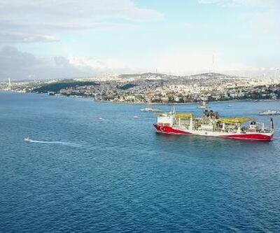 Fatih sondaj gemisi İstanbul Boğazı'ndan geçiyor