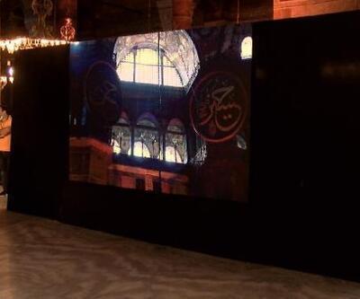 Ayasofya'da Fetih Suresi okunacak; içeriden görüntüler