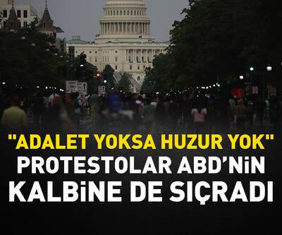 Protestolar Washington DC'ye de sıçradı