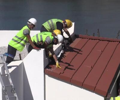 Özdil'in villasındaki kaçak eklentilerin yıkımına başlandı