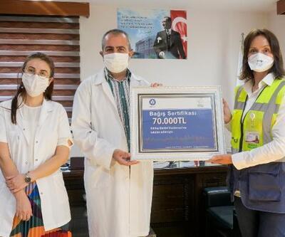 Akkuyu'dan sağlık kurumlarına bağış