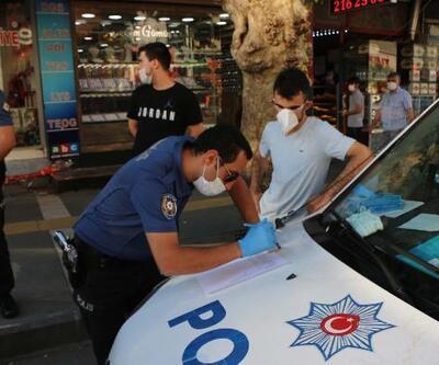 Adıyaman'da polisten maskesiz gezenlere ceza
