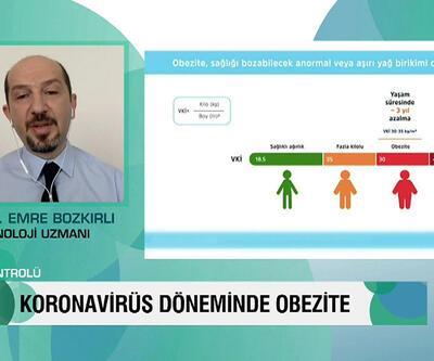 Sağlık Kontrolü koronavirüs dönemin obezite ve tedavi yöntemlerini konuştu
