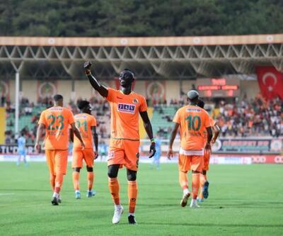 Alanyaspor'un en güçlü gol silahı Cisse