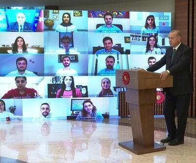 Son dakika... Cumhurbaşkanı Erdoğan: Nargile içilen yerler bir süre daha kapalı kalacak