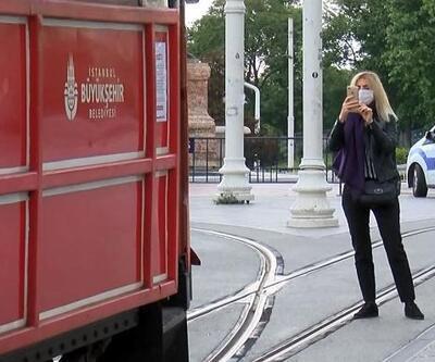 Nostaljik tramvay İstiklal Caddesi'nde seferlere başladı