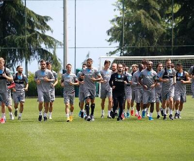 Trabzonspor, hazırlılarına sabah antrenmanıyla devam etti