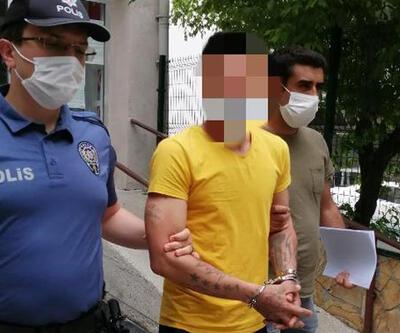 Eşine şiddetten yakalandı, hırsızlıktan tutuklandı