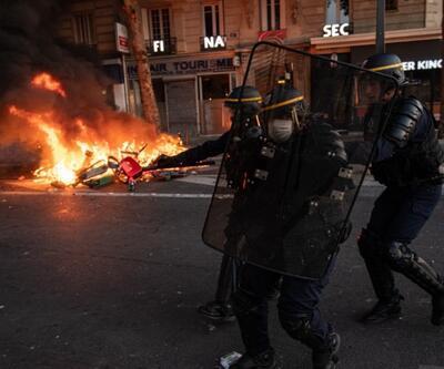 ABD'deki protestolar Fransa'ya sıçradı