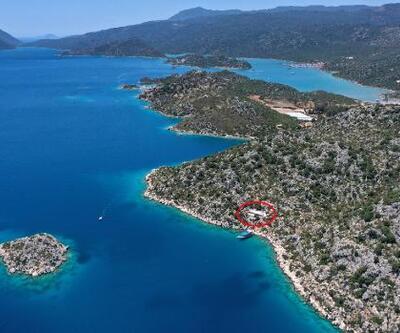 Yer: Antalya Demre! Cennet koydaki kaçak villanın yıkımı tamamlandı