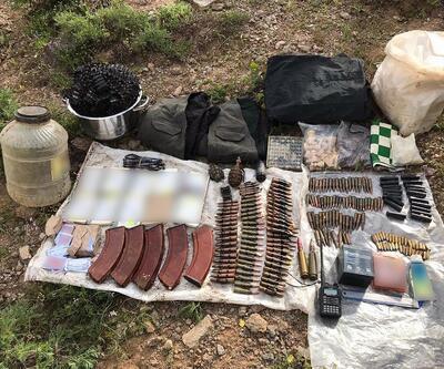 Bingöl'de, PKK'nın toprağa gömülü el bombaları bulundu