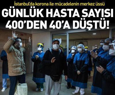 Günde 400 hastadan 40 hastaya...
