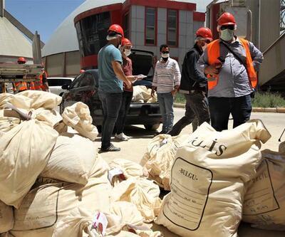 5 ton uyuşturucu ile 5 bin 978 tablet uyuşturucu hap imha edildi