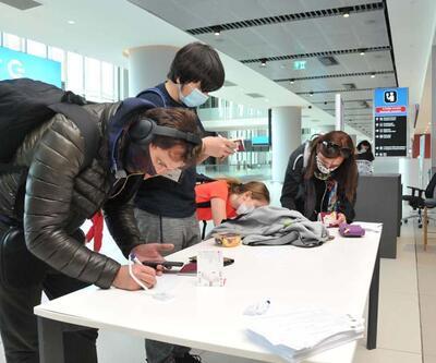 ABD'deki 295 Türk yolcu tahliye uçağıyla İstanbul'a geldi