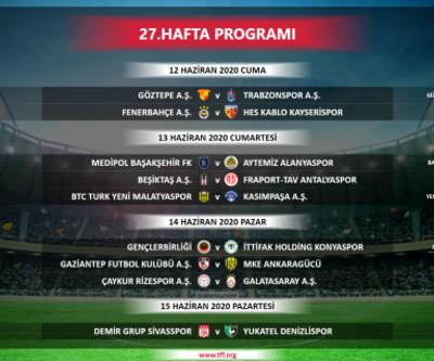 Son dakika... Süper Lig müsabakaları başlama saatlerinde değişiklik