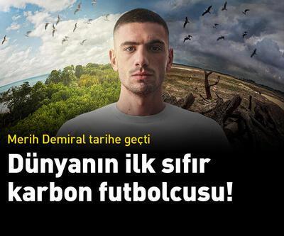 Dünyanın ilk sıfır karbon futbolcusu Merih Demiral