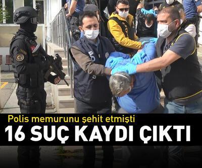 Bursa'da polisi şehit eden zanlının 16 suç kaydı çıktı