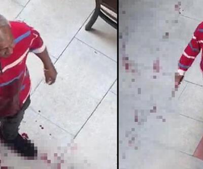 Kanlar içinde sokak sokak saldırganı aradı