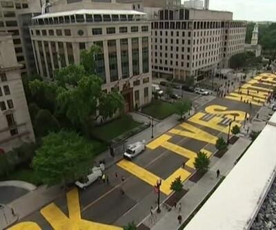 Son Dakika: Washington Belediye Başkanı'ndan eylemcilere destek  | Video